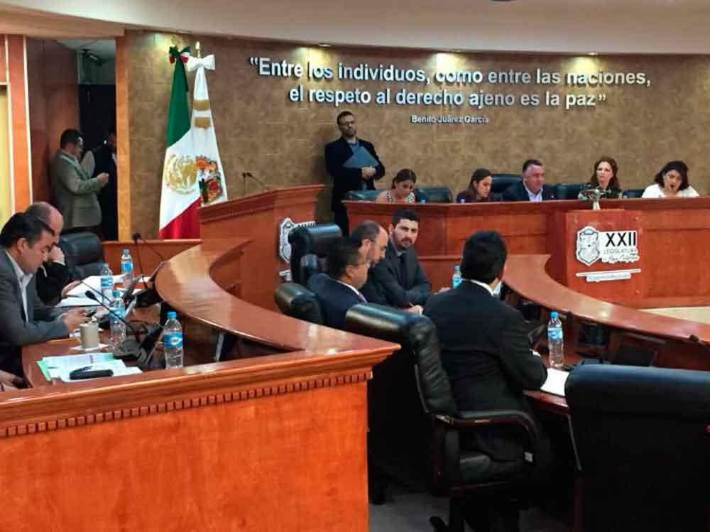 Próxima sesión del Congreso de BC será en Tecate
