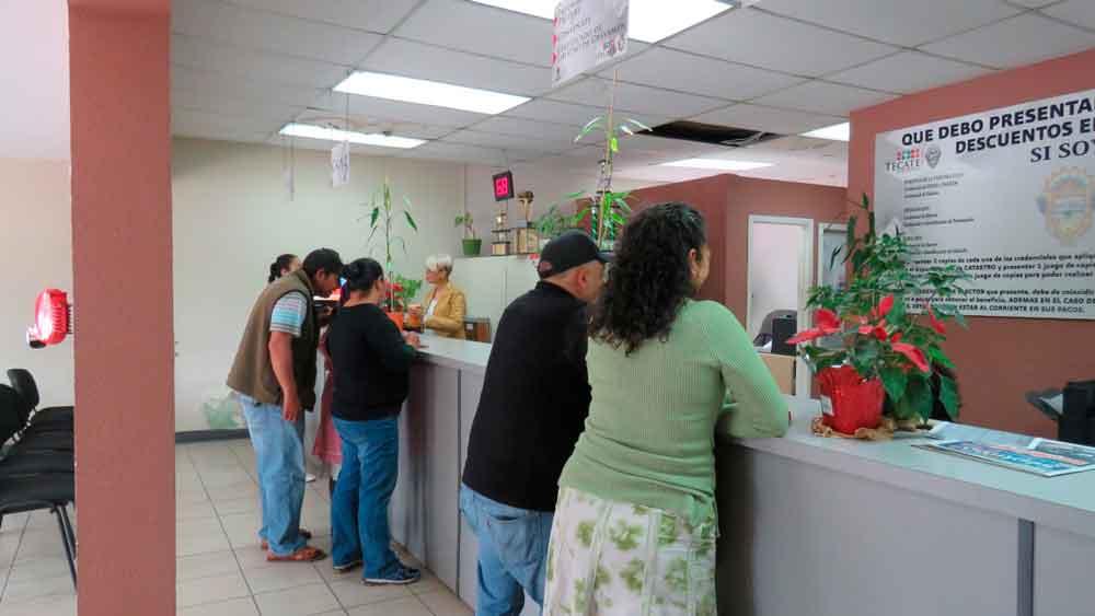 Continúa Ayuntamiento de Tecate otorgando descuentos en el pago del predial