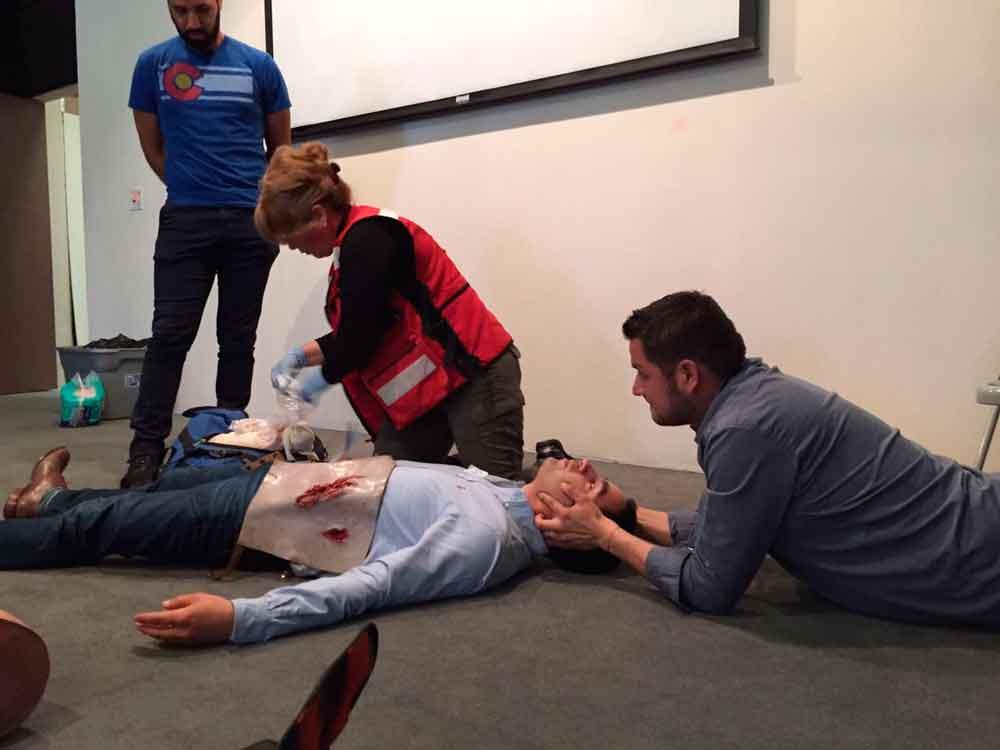 Capacita Gobierno de BC a personal en prevención de accidentes y primeros auxilios
