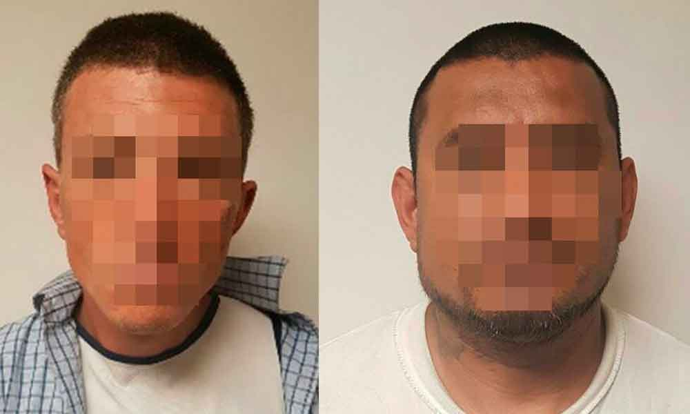 Capturan en Tijuana a dos sujetos acusados de cuádruple homicidio