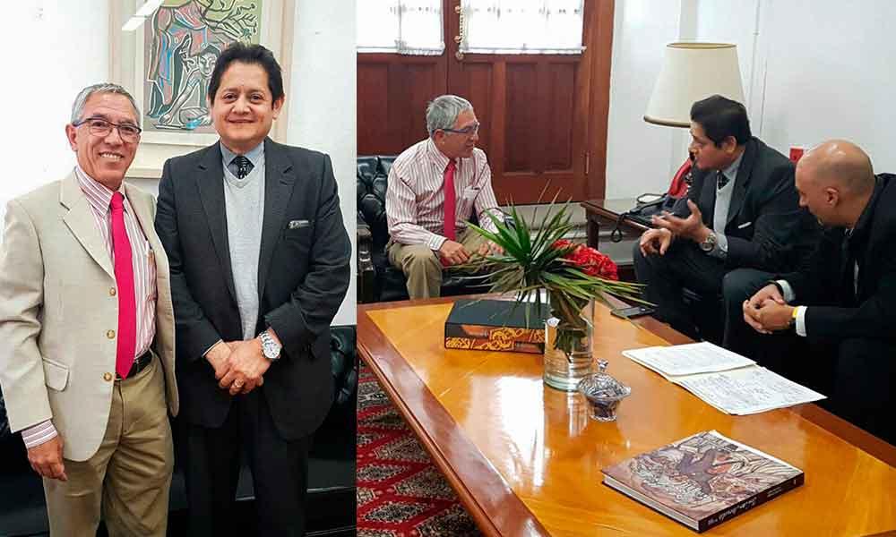 Se reúne Titular de Educación BC con Subsecretario de educación Superior de la SEP