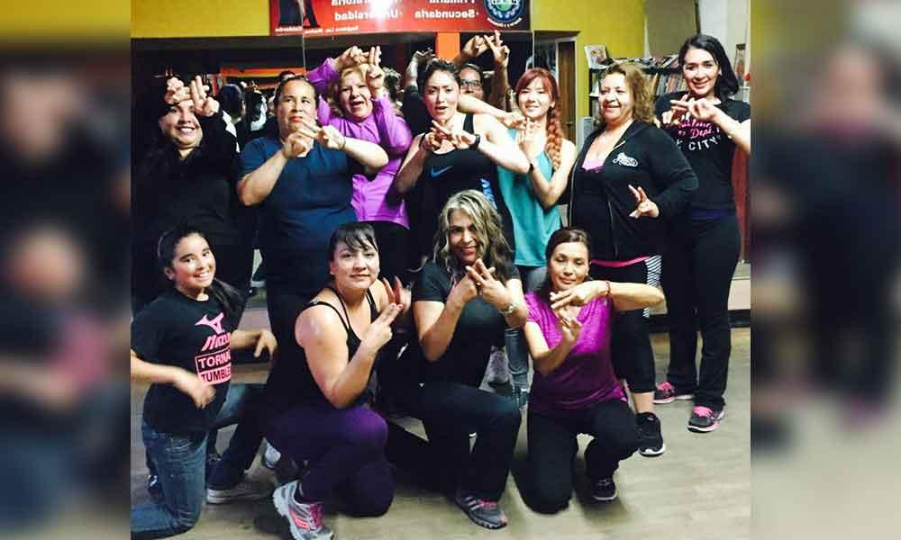 Inicia Marina Calderón el programa de activación Zumba de Mujer a Mujer