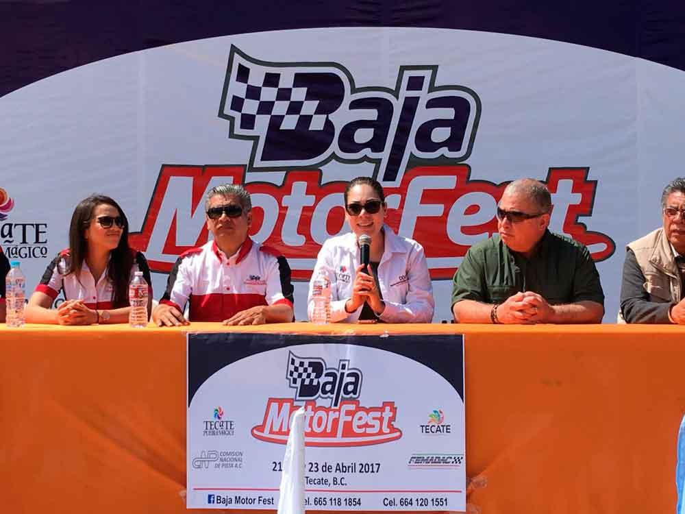 Más de 2 mil personas presenciarán el Baja Motor Fest en Tecate
