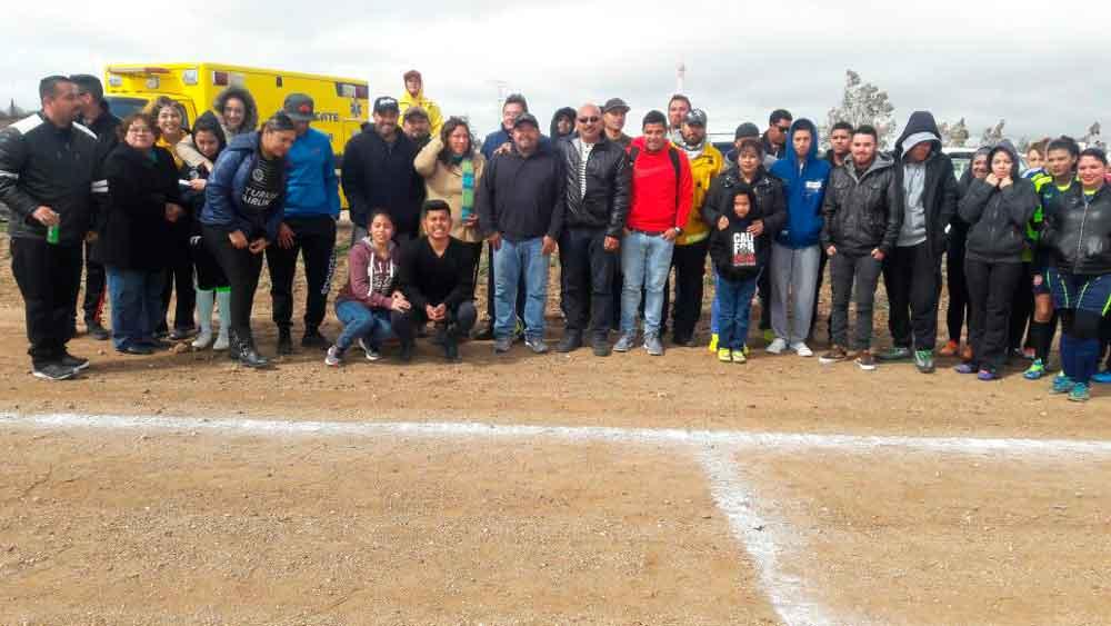 Promueve IMDETE el deporte en la zona rural de Tecate