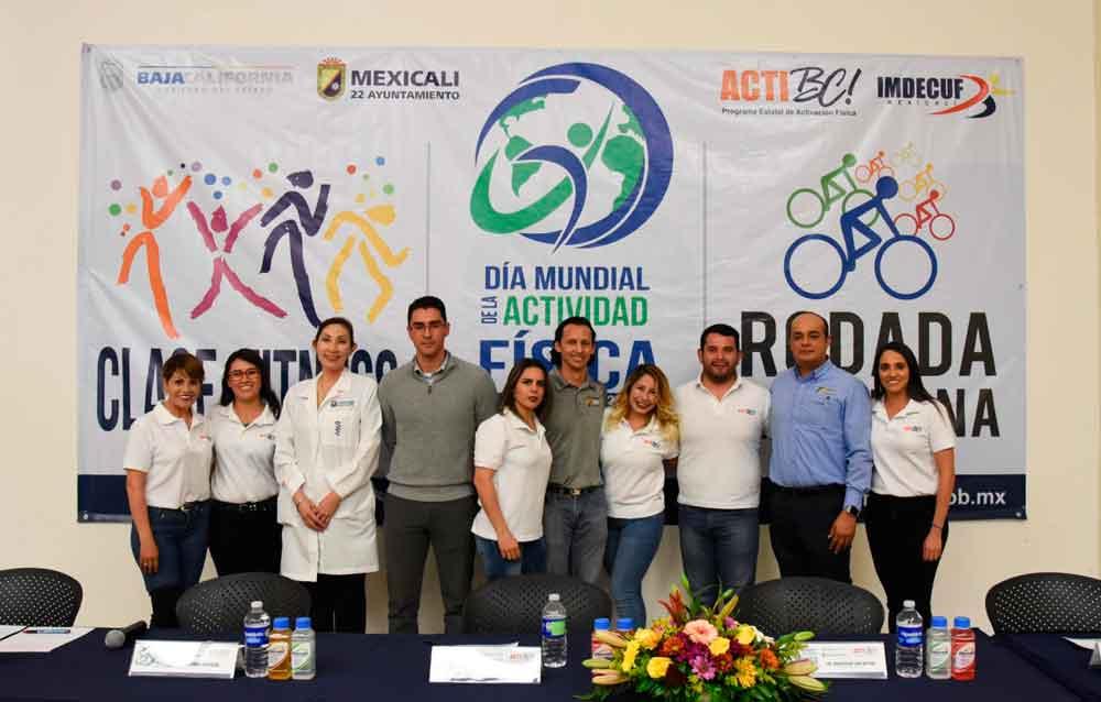 Festejarán en Mexicali el Día Mundial de la Actividad Física