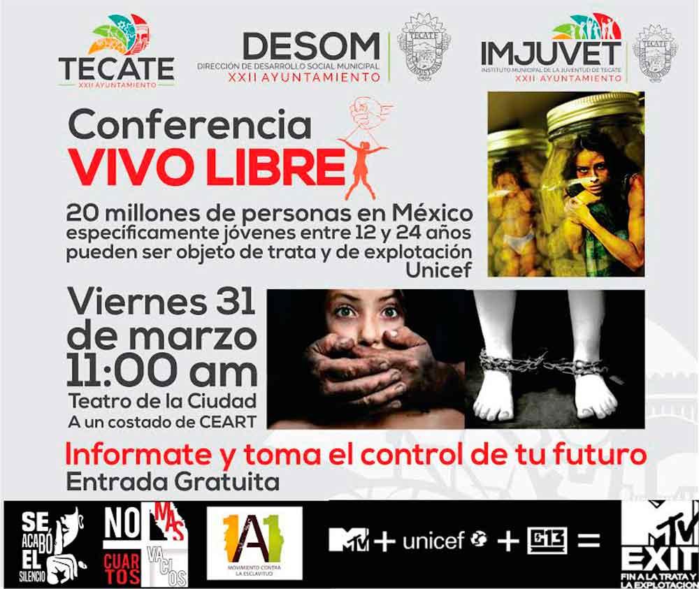 Invitan a Jóvenes a Conferencia Sobra la Forma de Vivir Libre de Violencia