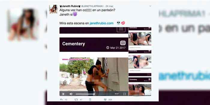 Escándalo por video porno filmado en panteón de Guadalajara