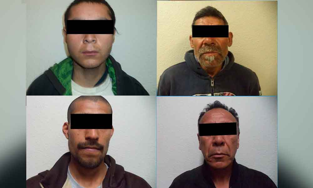 Cuatro detenidos en Tecate por diversos robos