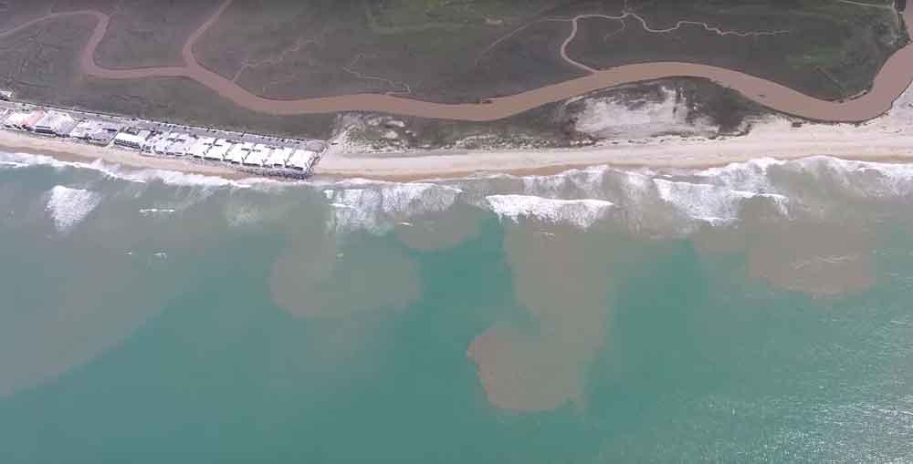 Aguas residuales tijuanenses contaminan playas de San Diego