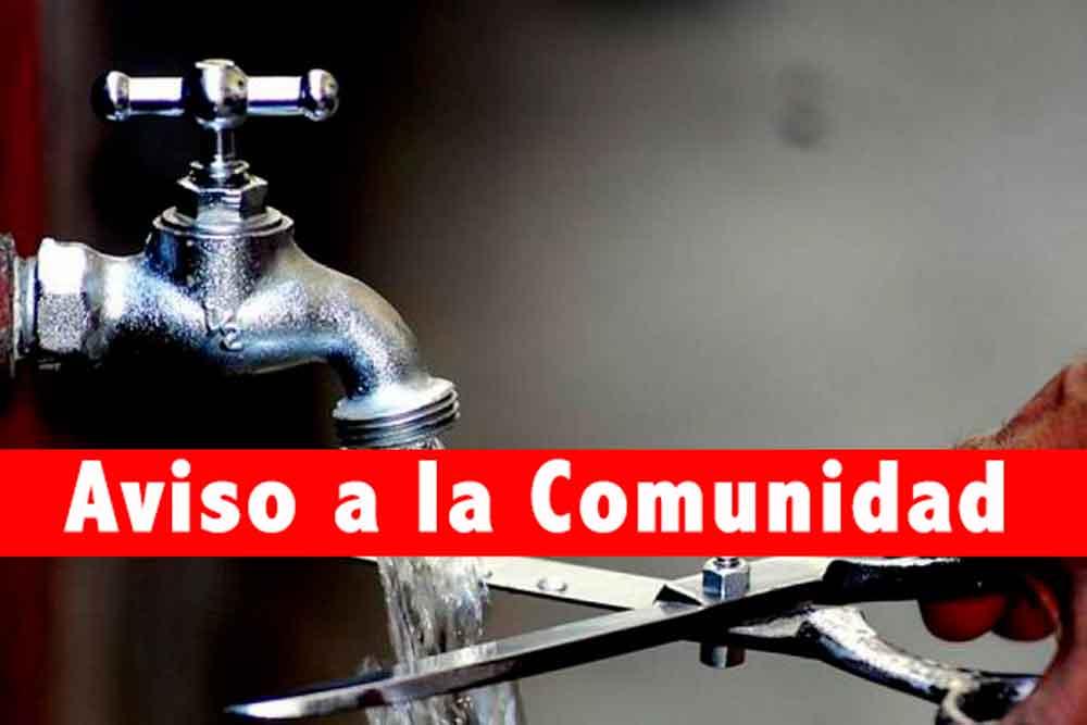 Prepárate: Corte de agua este miércoles en 13 colonias de Tijuana