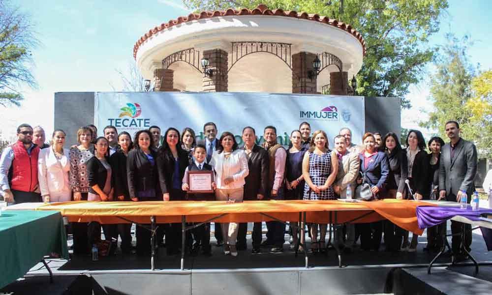 Firman Acuerdo Interinstitucional por la Defensa de la Mujer en Tecate