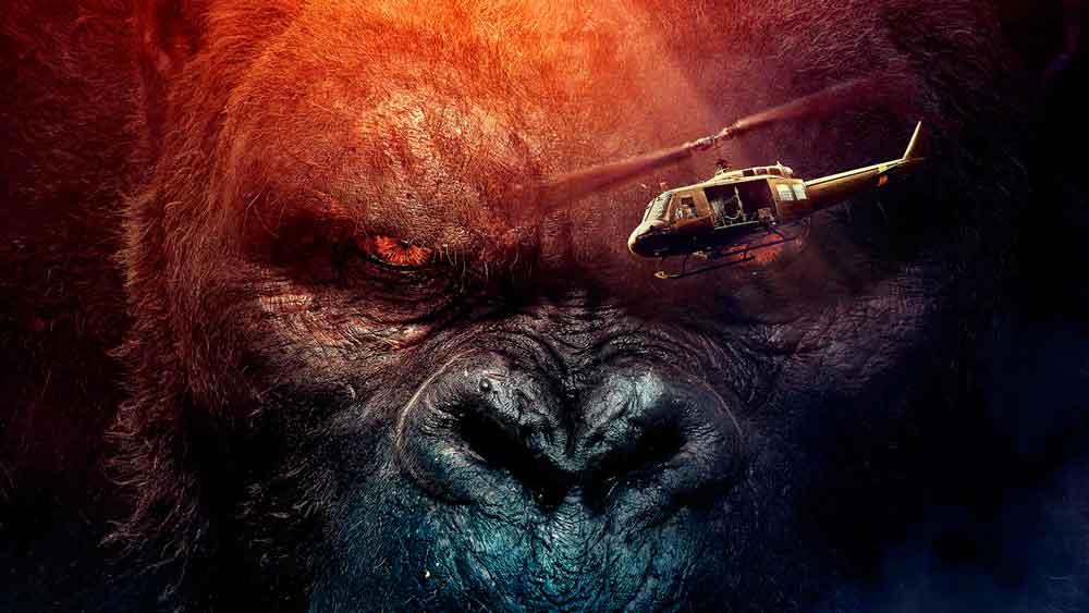 """""""Kong"""" derriba a """"Logan"""" del primer lugar de taquilla"""