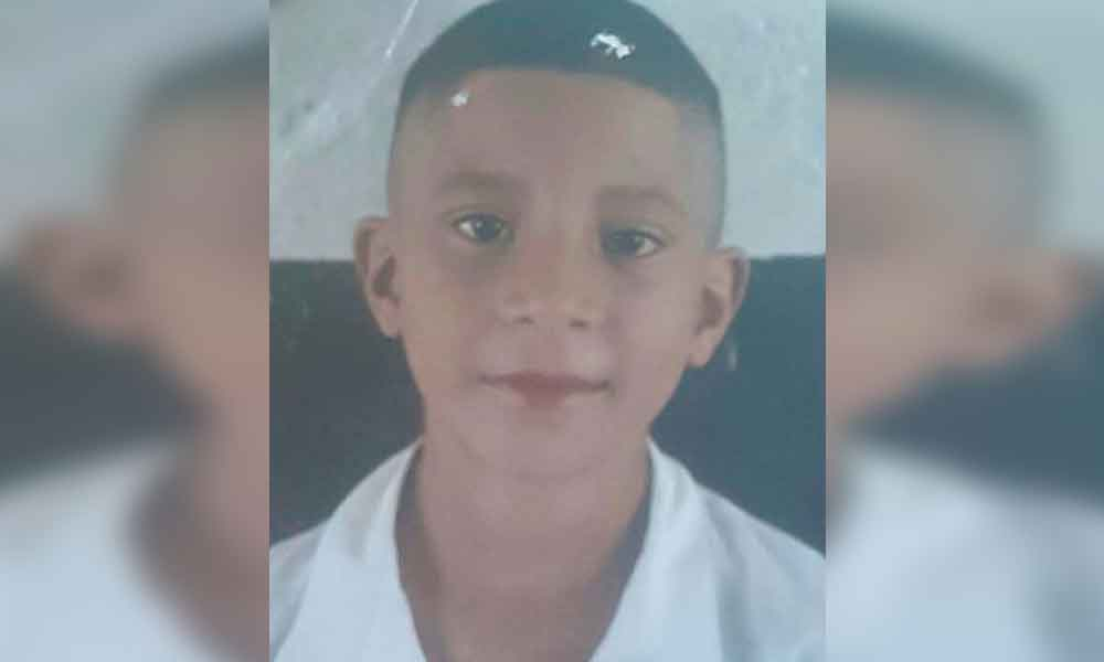 Familiares piden apoyo para localizar a Joel de 11 años