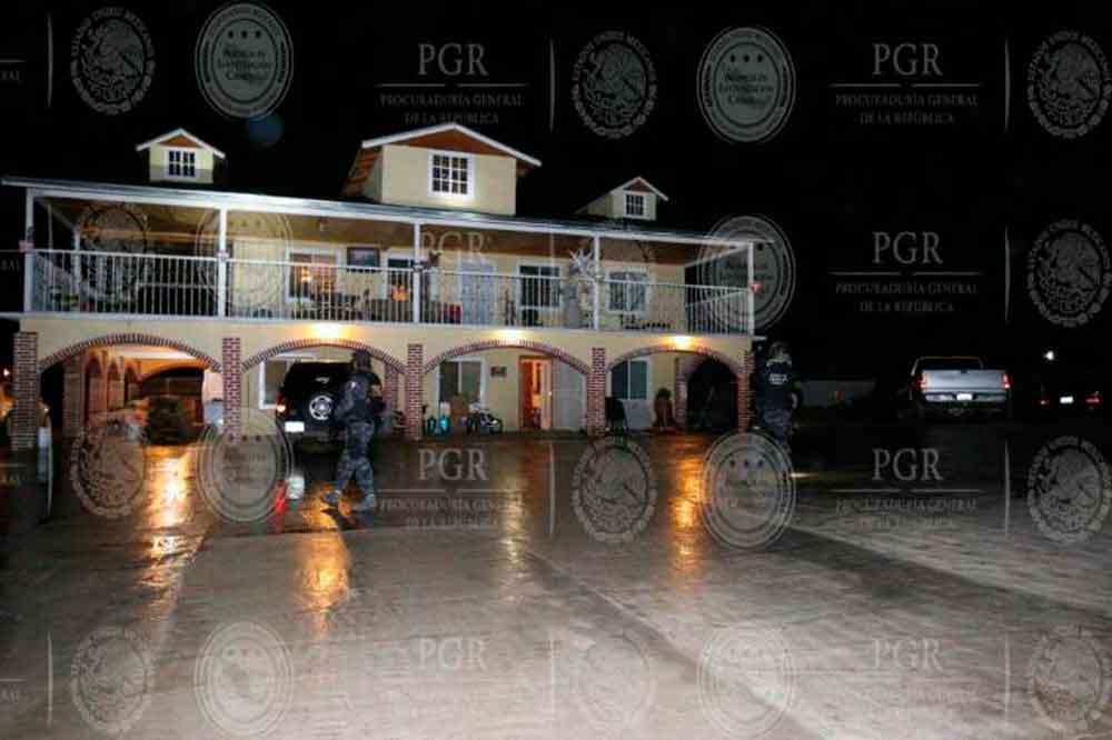 PGR desarticula organización dedicada a tráfico de personas en BC
