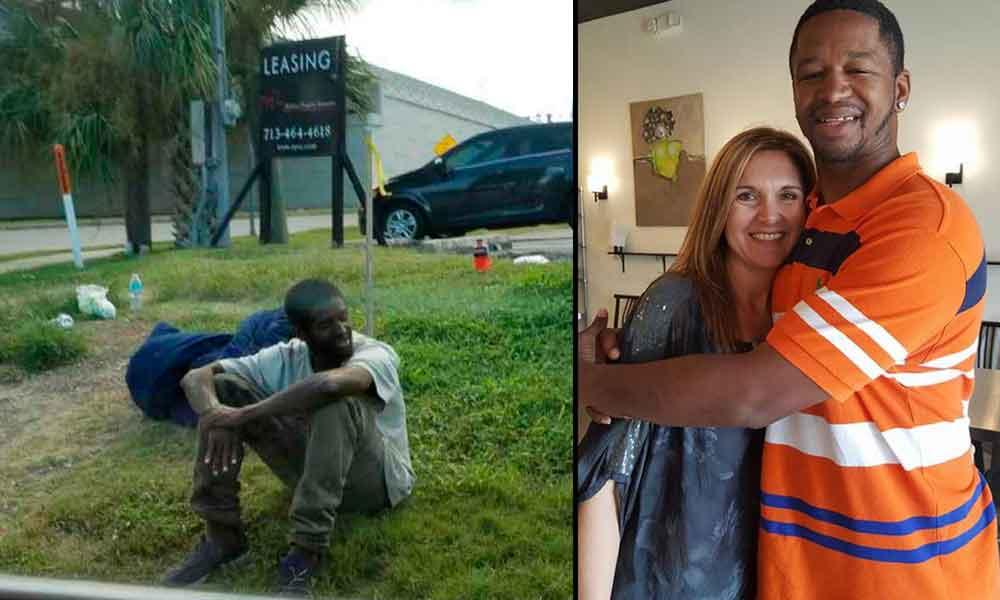 Transformó la vida de un vagabundo tras conocer su historia