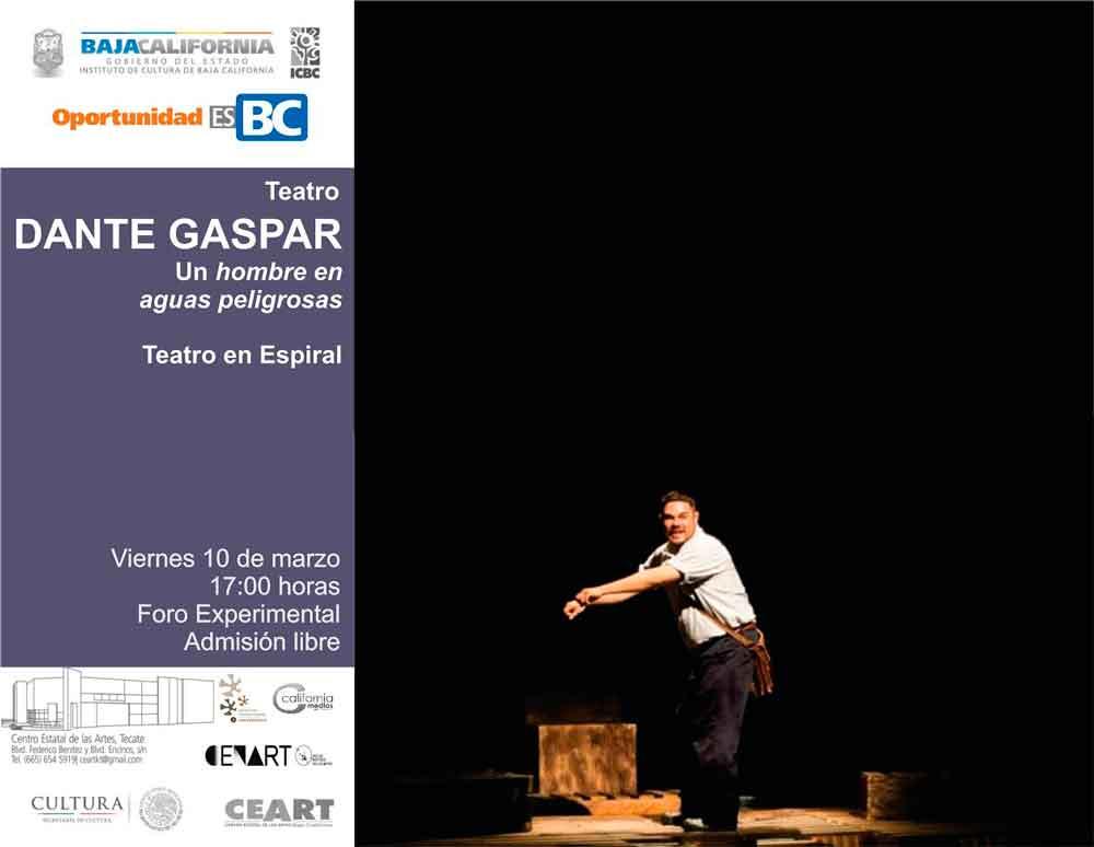 Colectivo de teatro en espiral se presentará en CEART Tecate