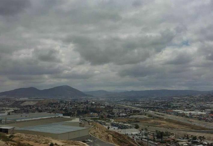 Cielo nublado y fuertes vientos para Baja California