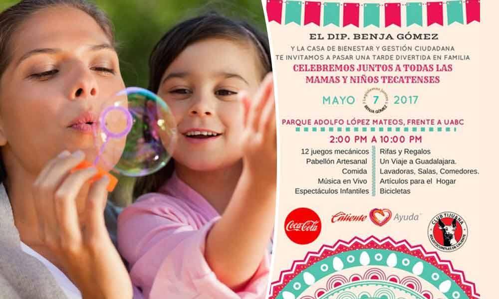 Invita Diputado Benja Gómez a celebrar el Día del Niño y las Madres