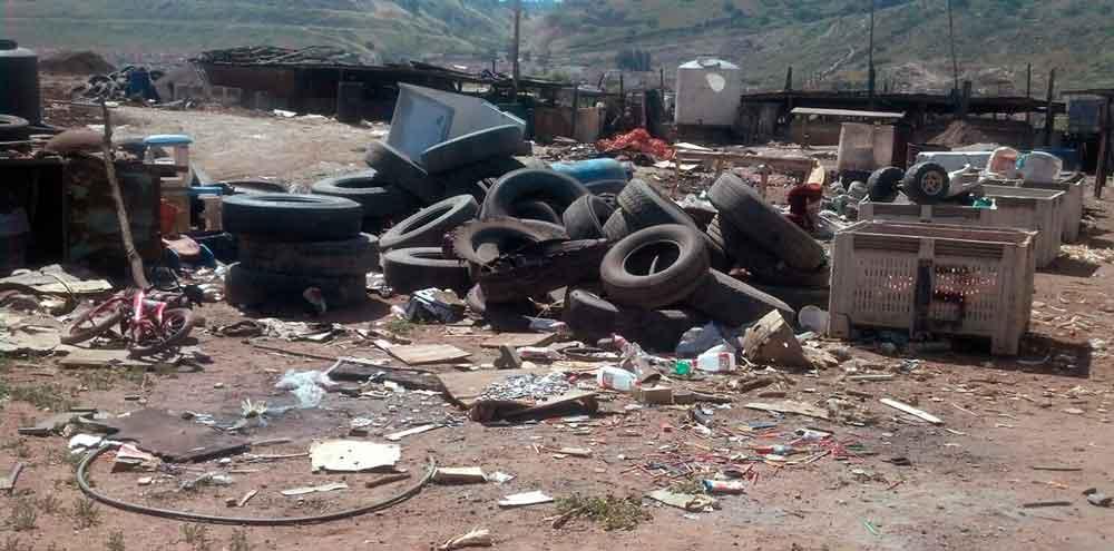 Clausura Gobierno de BC basurero clandestino en Tijuana
