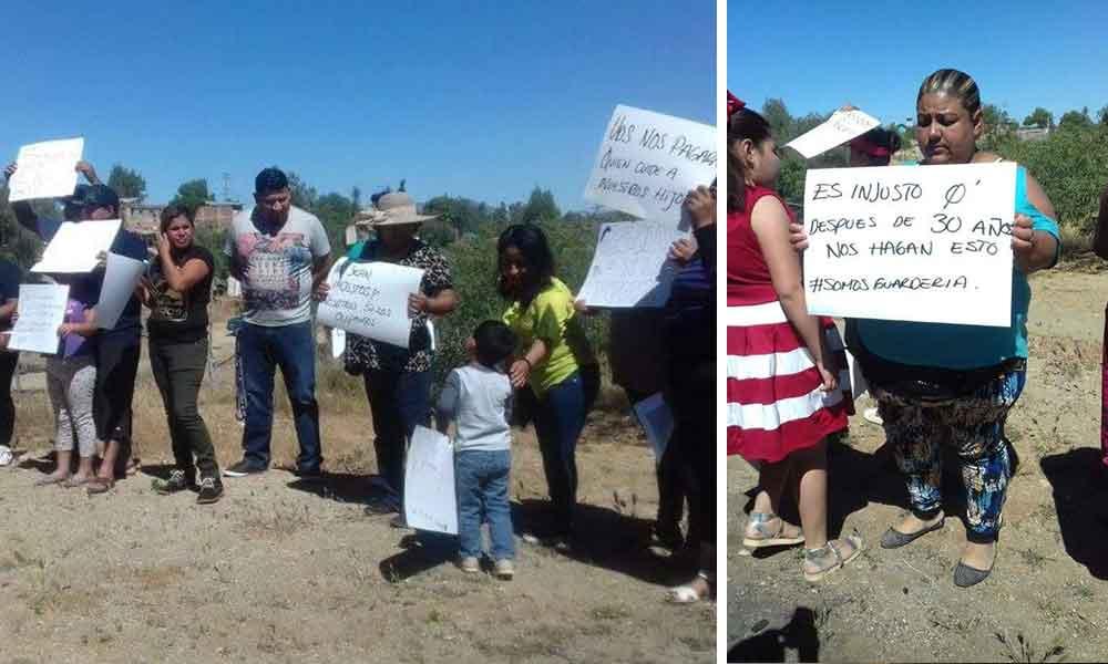 Padres de familia se manifiestan en Cerro Azul; Buscan evitar desalojo de guardería