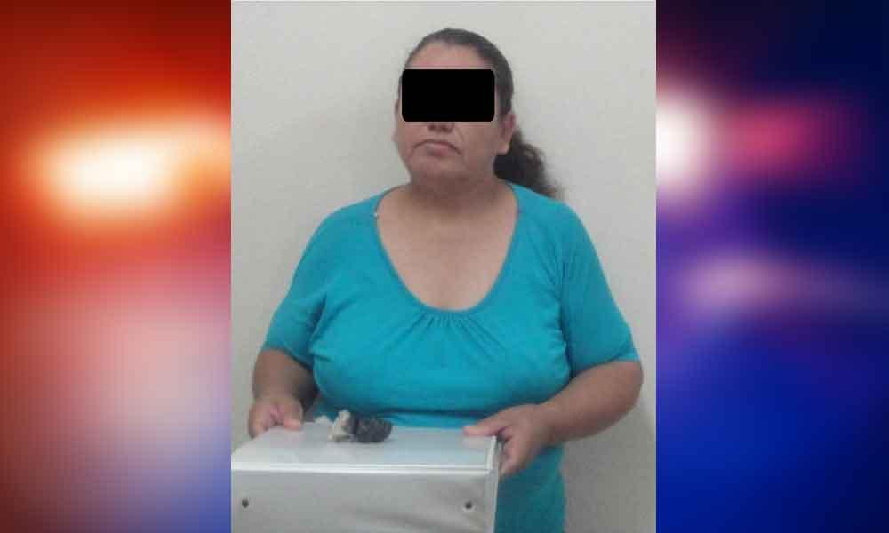 Intentó introducir Heroína al Cereso, es detenida