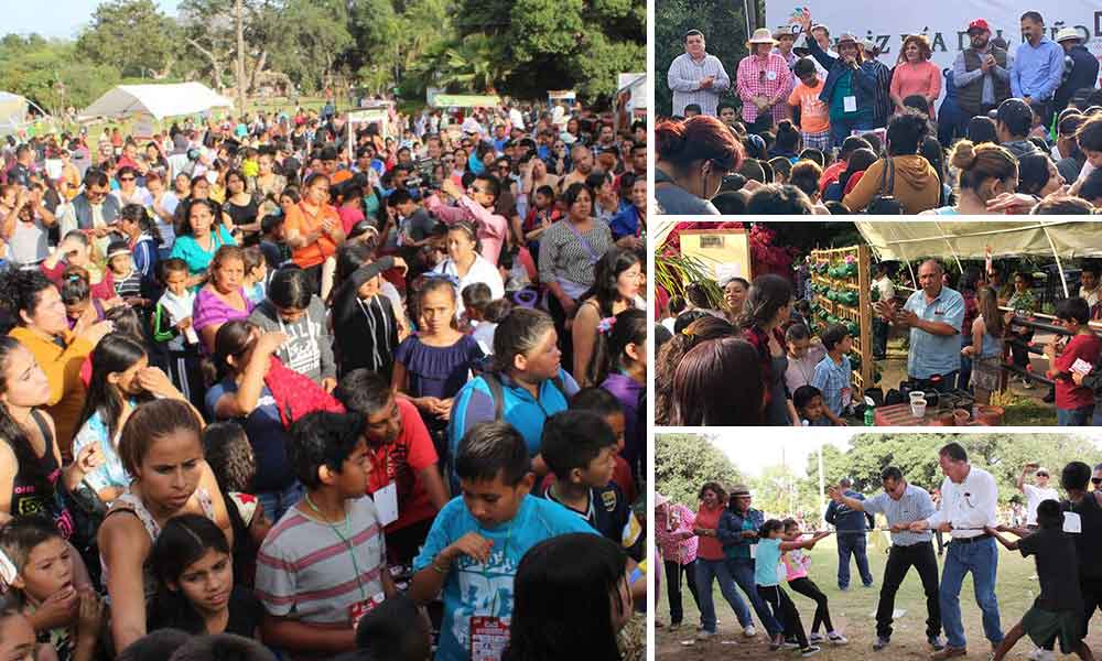 Celebra Gobierno Municipal el Día del Niño con granja interactiva