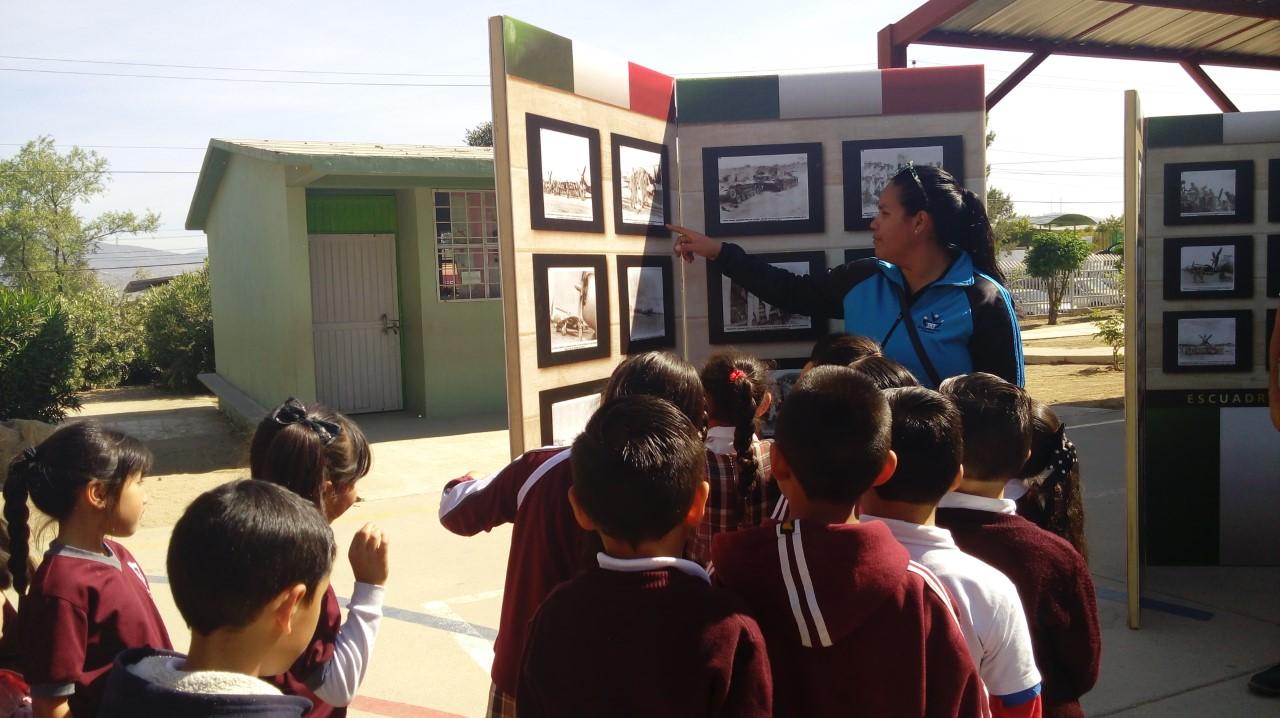 Presentan en Tecate exposición Caravana Cívica Patriótica