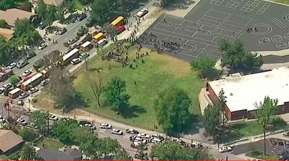 Al menos cuatro muertos tras tiroteo en primaria de San Bernardino