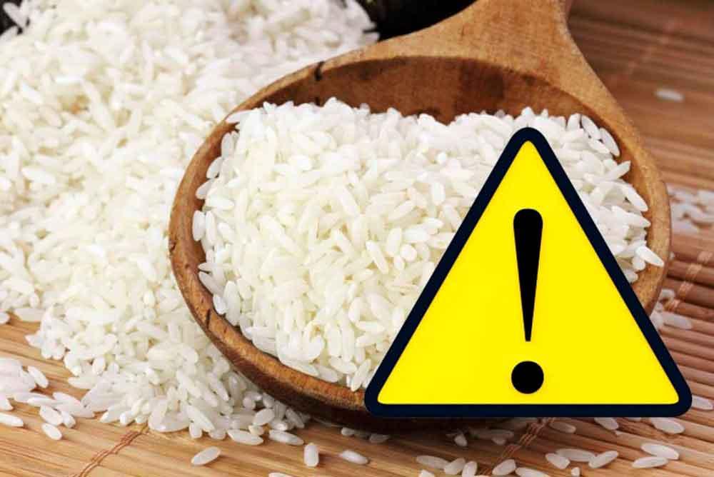 Te explicamos como reconocer el arroz de plástico
