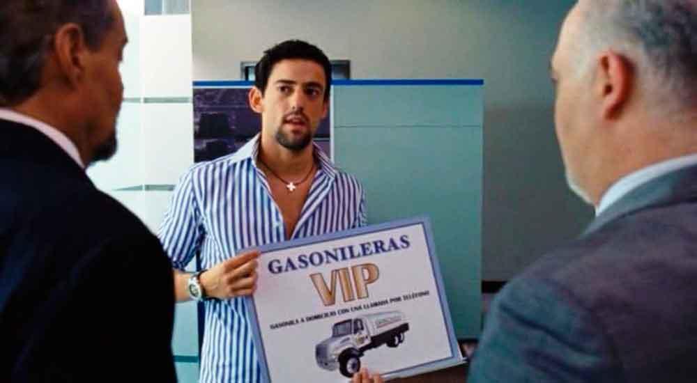 """Idea de """"Javi Noble"""" es una realidad, ¡ya venden gasolina a domicilio!"""