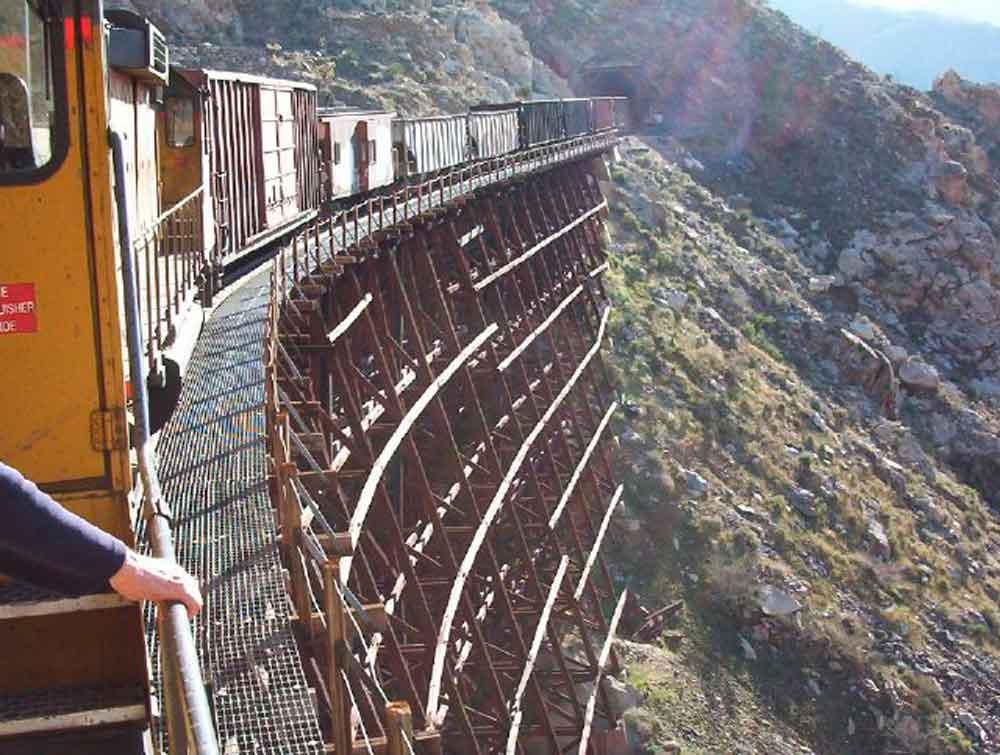 Definen trayecto del tren Sauzal-Tecate; Serán 218 kilómetros