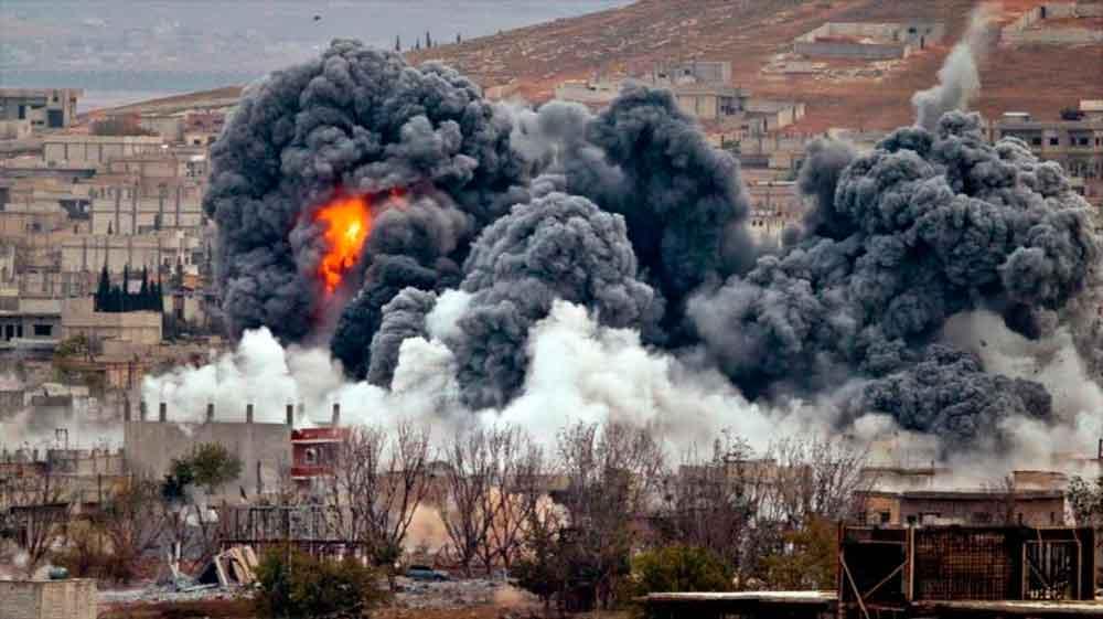 Reportan 9 civiles muertos en Siria por ataque de misiles de EU; 4 de ellos son menores
