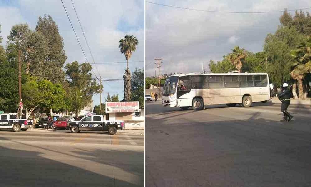 Se registra balacera en Bulevar Simón Bolívar de Tijuana