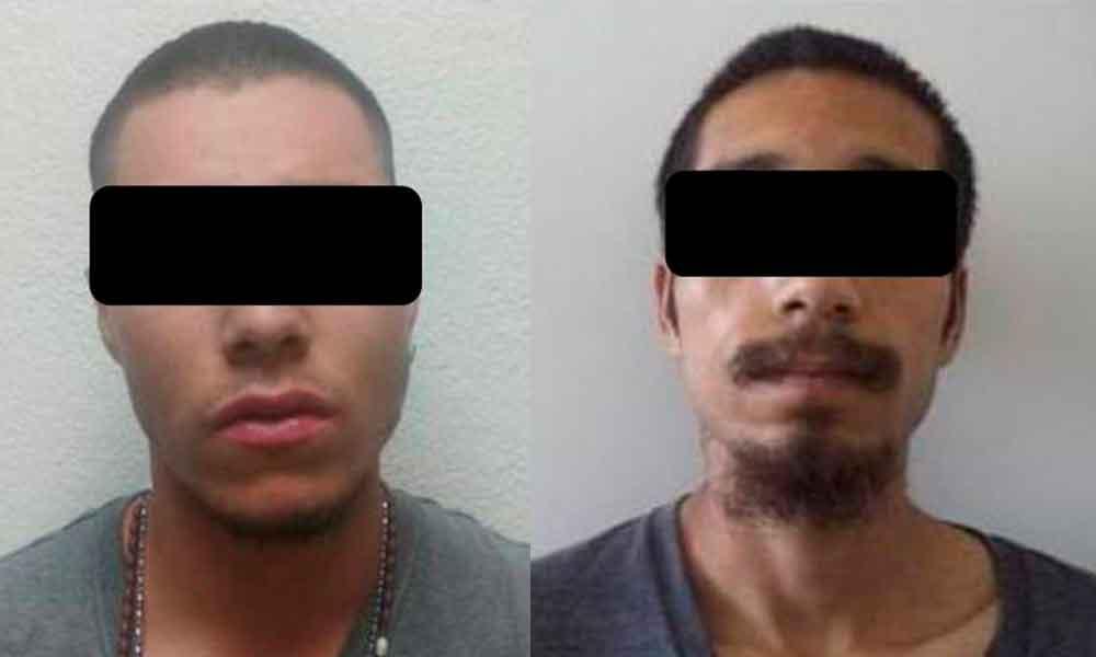 Caen dos por robo en Tecate