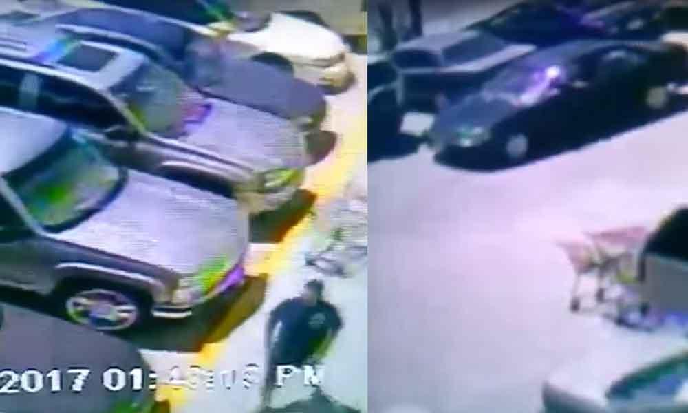 En dos minutos logra robar un auto en Tijuana, lo captan en video