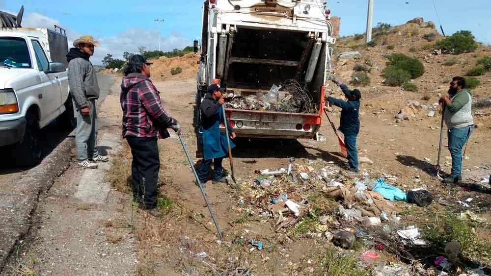 Rehabilitan centro de acopio de residuos en La Rumorosa