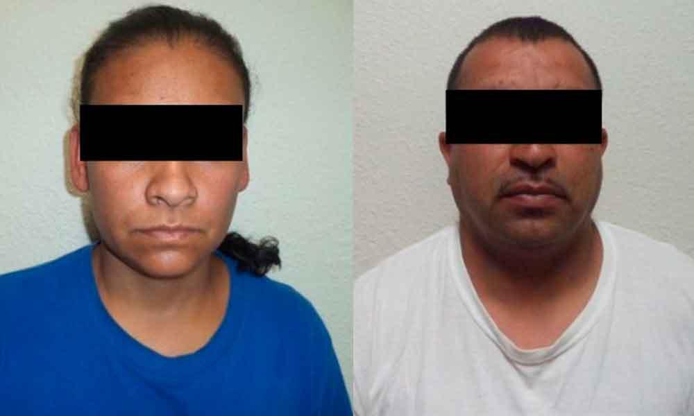 Capturan a pareja por robo de computadora portátil en Tecate