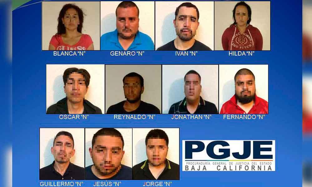 Once a prisión por secuestro en Tijuana