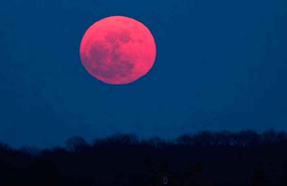 Hoy podrás disfrutar de la Luna Rosa