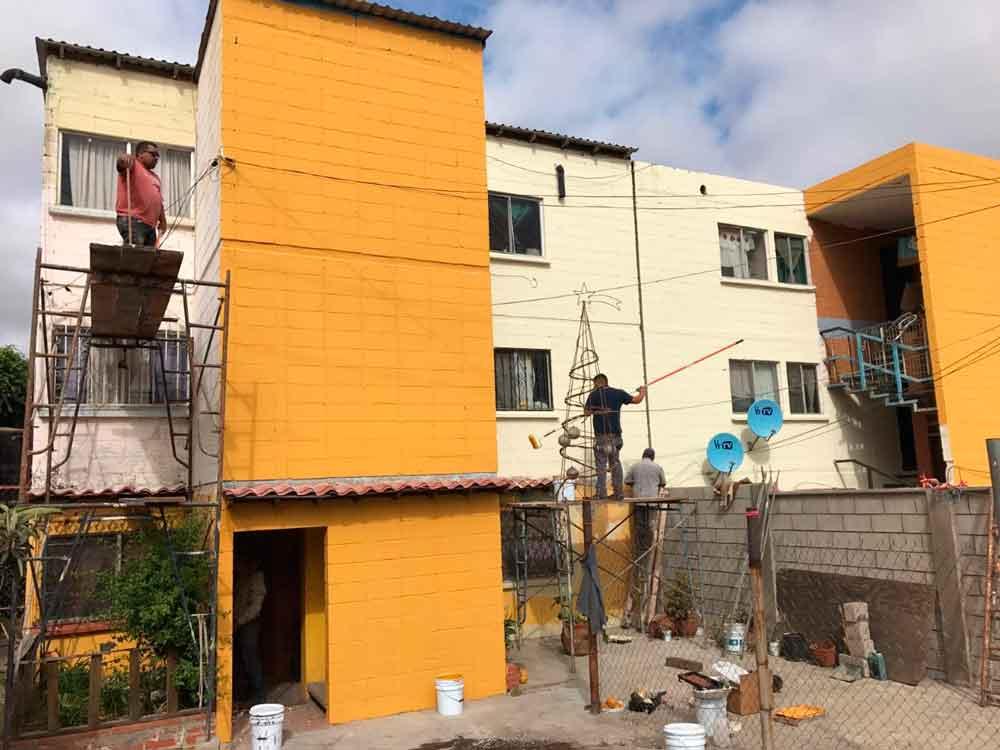 Inicia Gobierno Municipal Rehabilitación de Unidades Habitacionales