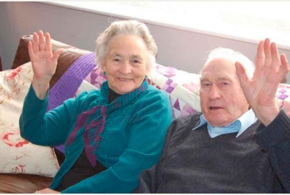 Estuvieron juntos por 71 años y sólo 4 minutos de diferencia al morir