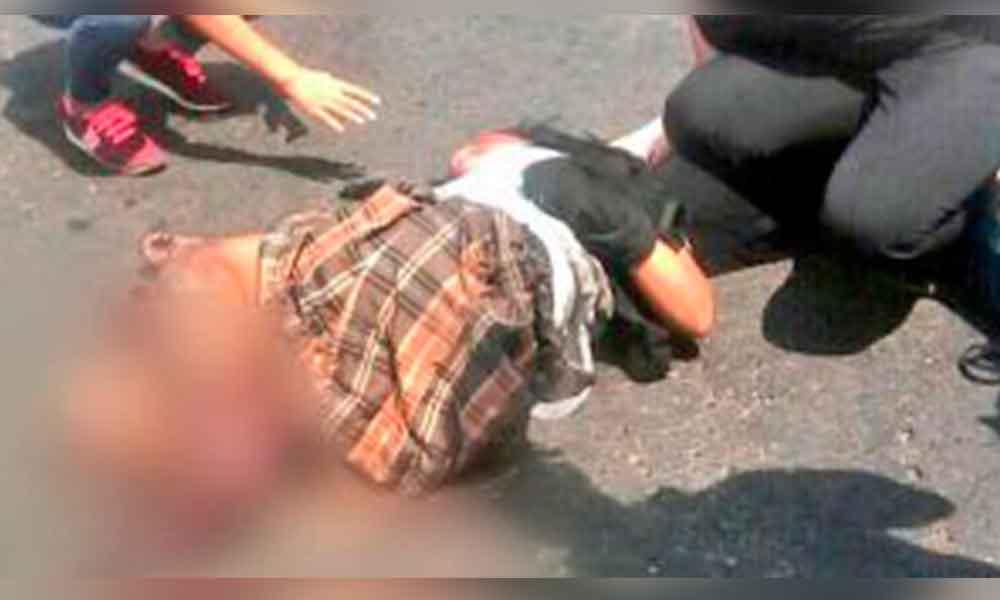 Conductor atropella a 13 estudiantes en Guatemala
