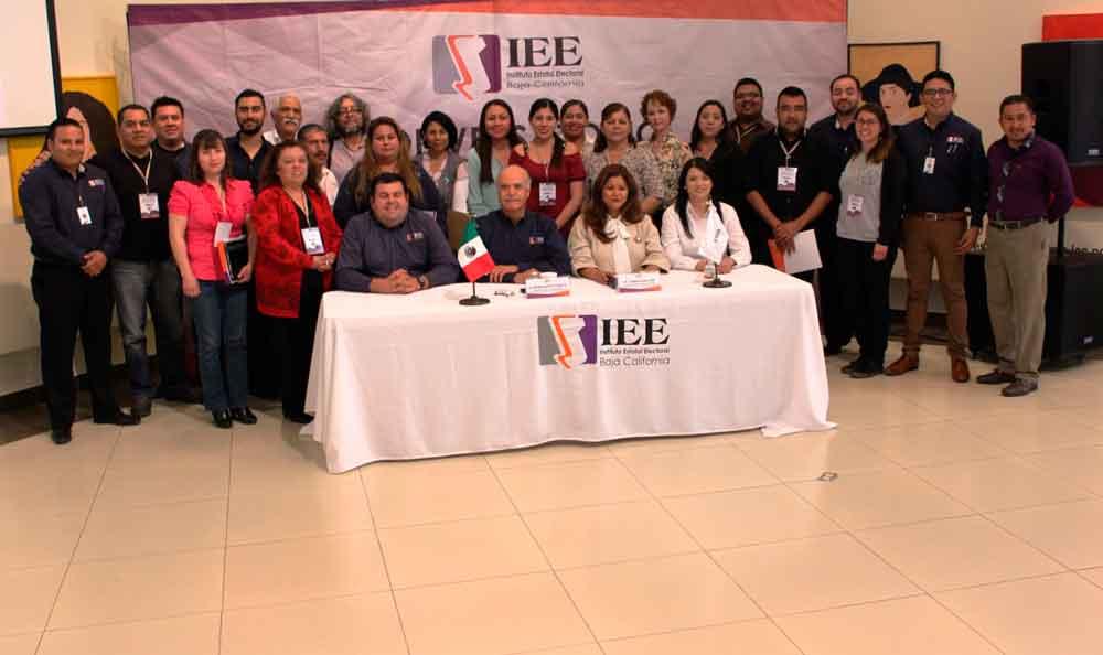 Realiza IEEBC segundo conversatorio en Tecate