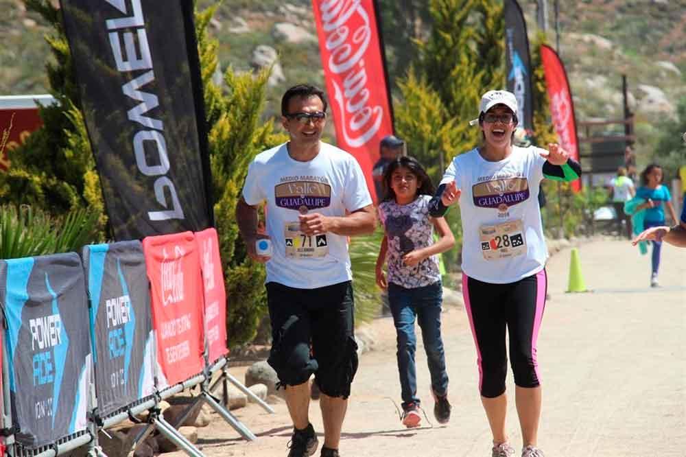 Realizarán Tercera edición del Medio Maratón de Valle de Guadalupe