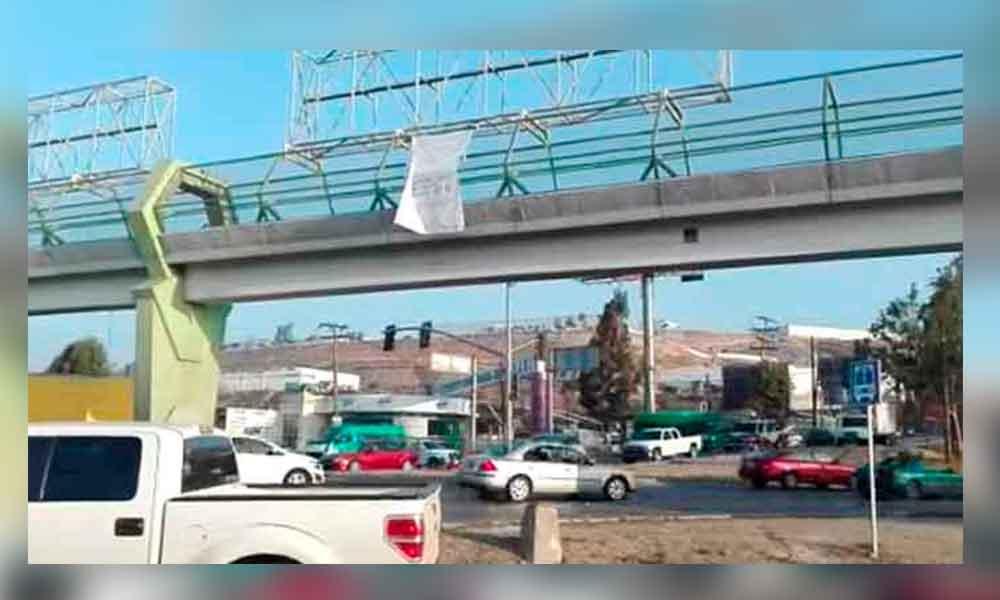 Aparecen tres narcomantas en Tijuana; Amenazan a Policía Ministerial