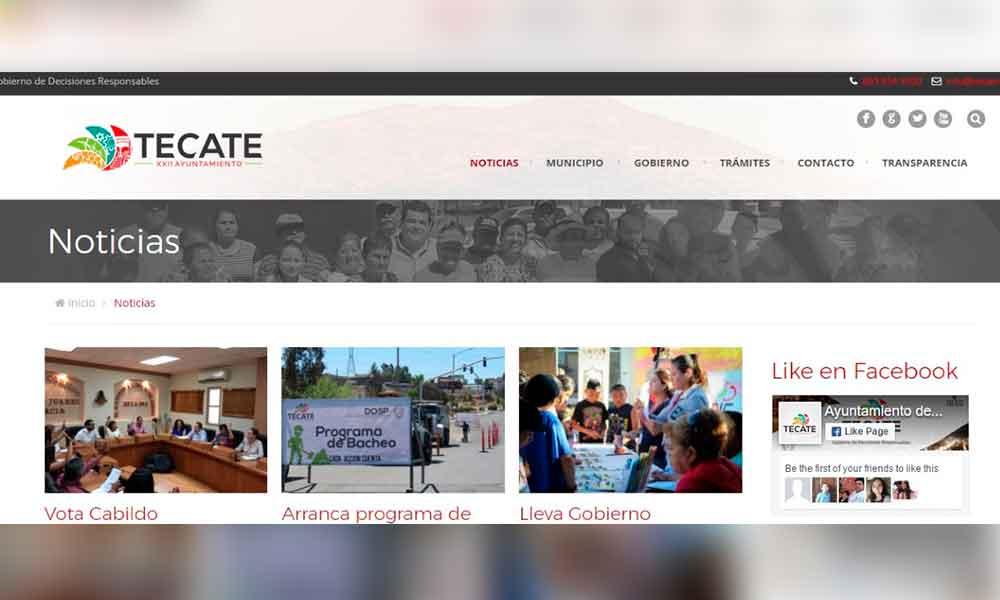 Mayor Transparencia en Los Trabajos del Ayuntamiento A Través de su Nuevo Portal de Internet