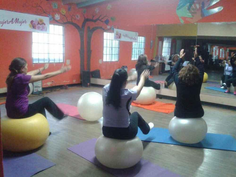 Incentiva Marina Calderón proyectos que impulsen el desarrollo de la mujer; ahora en lo deportivo