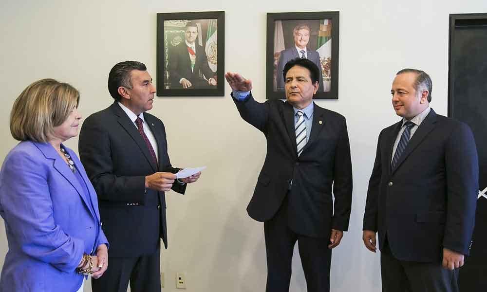 Toman protesta a Bladimiro Hernández Díaz como Secretario de Planeación y Finanzas en BC