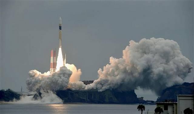 Japón pone en órbita un satélite de geolocalización
