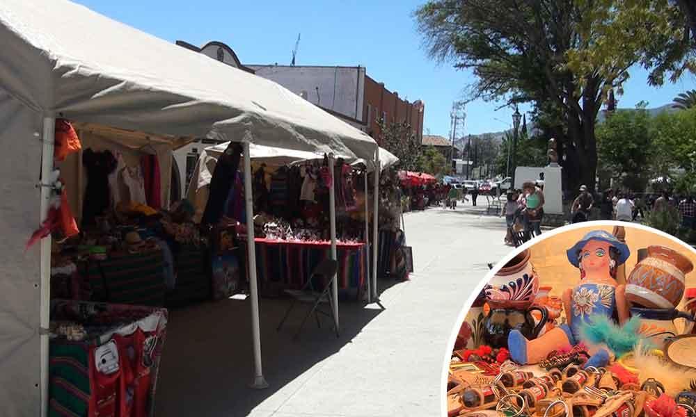 Regresan artesanos al Parque Miguel Hidalgo en Tecate